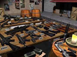 montar armas pesadas